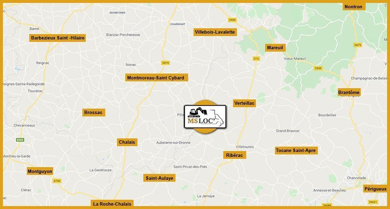 Care zone d'intervention MSLoc